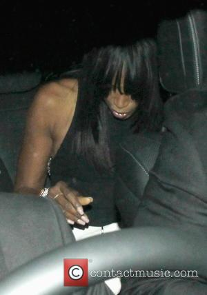 Naomi Campbell - Celebrities attend Victoria Beckham's Private Dinner Party during London Fashion Week - Outside at London Fashion Week...