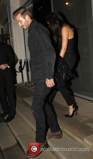 David Beckham , Victoria Beckham - Celebrities attend Victoria Beckham's Private Dinner Party during London Fashion Week - Outside at...