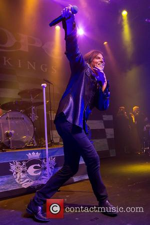 Europe , Joey Tempest - Swedish hard rock band Europe performing live on stage at Tradgar'n at Tradgar'n - Gothenburg,...