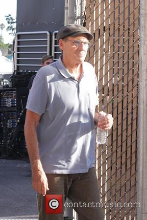 James Taylor - James Taylor arrives and greets fans before his appearance on Jimmy Kimmel Live! at Jimmy Kimmel Studios...