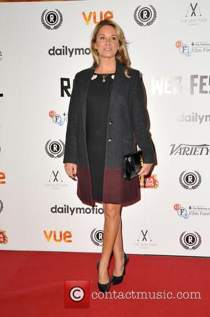 Tamzin Outhwaite - Raindance Film Festival - 'My Hero' premiere at Vue Cinema Leicester Square - Red Carpet Arrivals at...