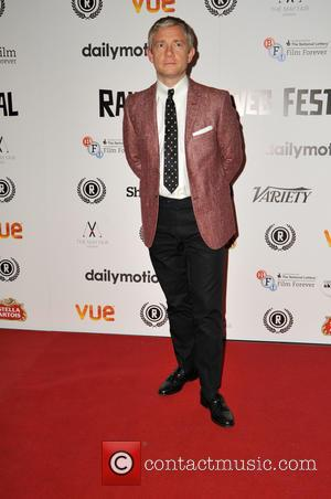 Martin Freeman - Raindance Film Festival - 'My Hero' premiere at Vue Cinema Leicester Square - Red Carpet Arrivals at...