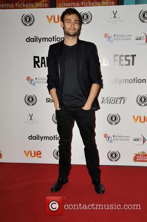 Douglas Booth - Raindance Film Festival - 'My Hero' premiere at Vue Cinema Leicester Square - Red Carpet Arrivals at...