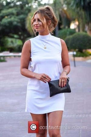 Ferne Mccann - TOWIE stars head out for dinner at Olivias La Cala at Marbella - Malaga, Spain - Wednesday...