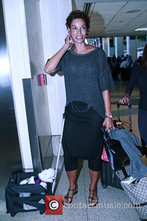 Nicole Murphy - Nicole Murphy arrives at Los Angeles International Airport (LAX) at LAX - Los Angeles, California, United States...
