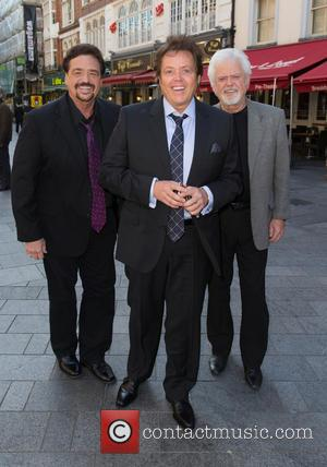 The Osmonds - Celebrities at Capital Radio at Global House, Leicester Square - London, United Kingdom - Wednesday 23rd September...