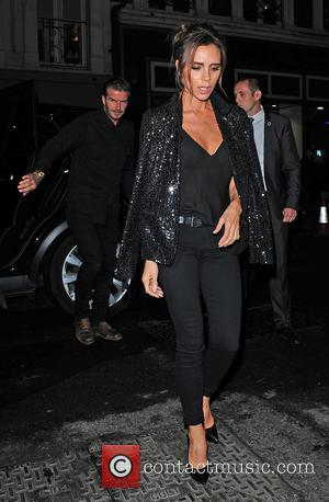 Victoria Beckham , David Beckham - Celebrities attend Victoria Beckham's Private Dinner Party during London Fashion Week - Outside at...