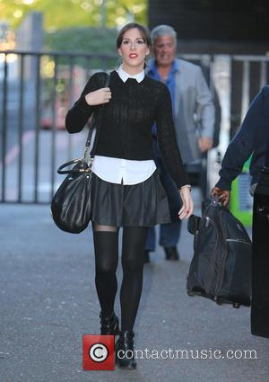 Verity Rushworth - Verity Rushworth outside ITV Studios - London, United Kingdom - Wednesday 23rd September 2015