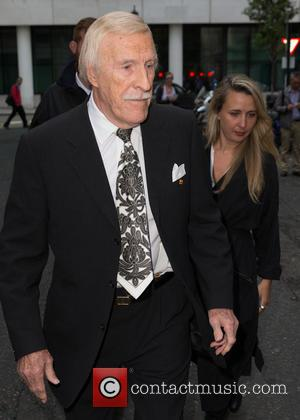 Sir Bruce Forsyth CBE - Celebrities at BBC Radio 2 at BBC Western House - London, United Kingdom - Thursday...
