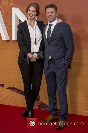 Ashley Moore and Sean Bean