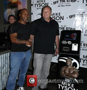 Mike Tyson and Tom Goldsbury