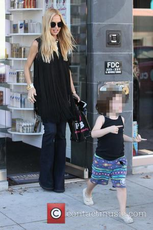 Rachel Zoe, Skyler Berman , Skyler Morrison Berman - Rachel Zoe seen shopping for beauty products in Beverly Hills at...