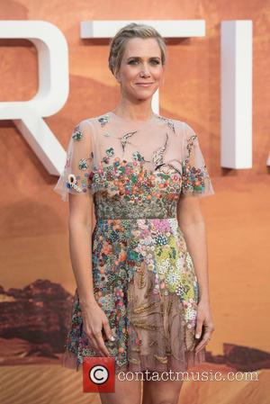 Kristen Wiig - The Martian European Premiere held at the Odeon Leicester Square - Arrivals. at Odeon Leicester Square -...