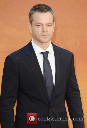 Matt Damon - The UK premiere of 'The Martian' at Odeon Leicester Square - Arrivals at Odeon Leicester Square -...