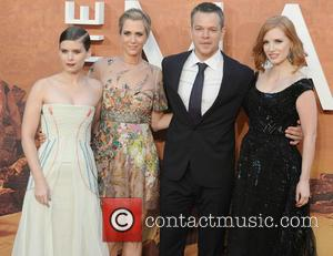 Matt Damon, Kristen Wiig, Jessica Chastain and Kate Mara