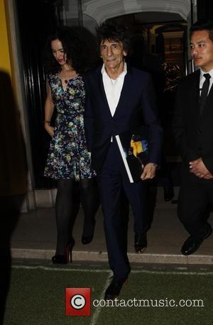 Ronnie Wood - Celebrities out and about in London - London, United Kingdom - Thursday 24th September 2015