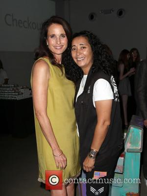 Andie MacDowell and Guest