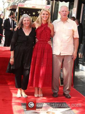 Claire Danes , Christopher Danes - Claire Danes honored with star on the Hollywood Walk of Fame at on the...