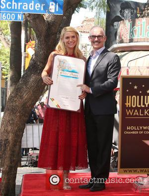 Claire Danes , Mitch O'Farrell - Claire Danes honored with star on the Hollywood Walk of Fame at on the...