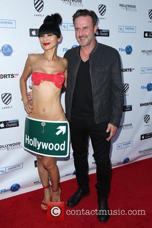 Bai Ling and David Arquette