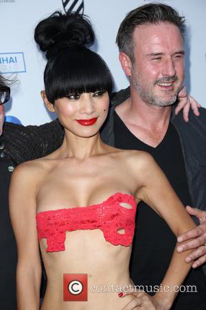 Bai Ling , David Arquette - 2015 Hollywood Film Festival - Opening Night - Arrivals - Los Angeles, California, United...