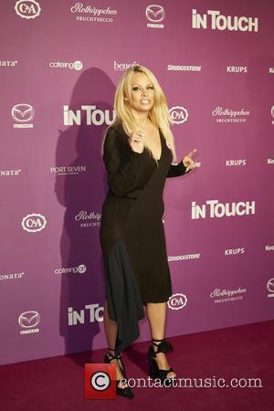 Pamela Anderson at Port Seven