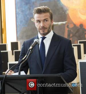 David Beckham - UNICEF Goodwill Ambassador David Beckham visits the United Nations General Assembly at United Nations - New York,...