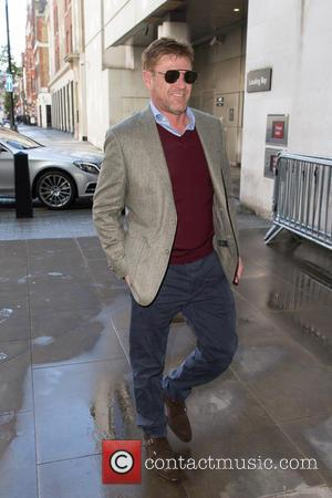 Sean Bean - Sean Bean arriving at the BBC Radio 1 studios to promote the new film, 'The Martian' which...