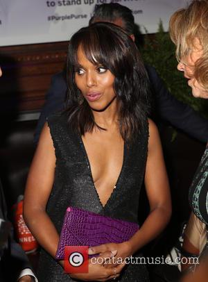 Kerry Washington - Limited Edition Allstate Foundation Purple Purse Launch at The Plaza Hotel - New York, New York, United...