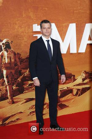 ‪Matt Damon‬ - European premiere of 'The Martian' at Odeon Leicester Square - Arrivals at Odeon Leicester Square - London,...
