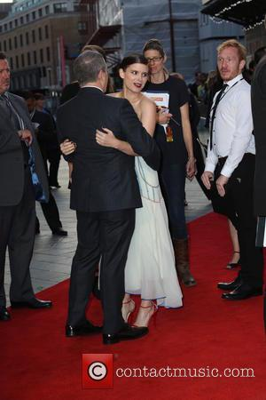 ‪Kate Mara‬ - European premiere of 'The Martian' at Odeon Leicester Square - Arrivals at Odeon Leicester Square - London,...
