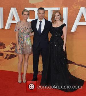 Kristen Wiig, Matt Damon , Jessica Chastain - European Premiere of