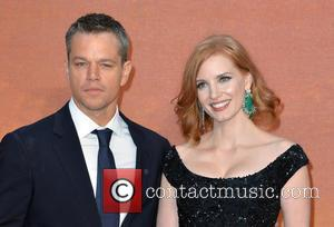 Matt Damon , Jessica Chastain - European Premiere of