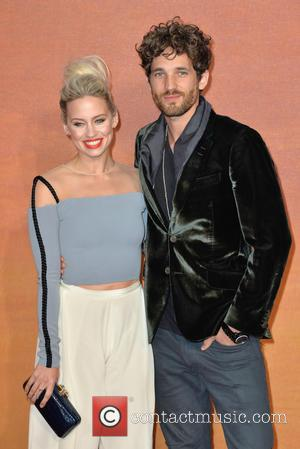 Ashley Roberts , Max Rogers - European Premiere of
