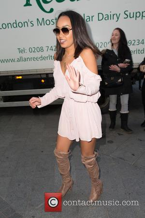 Little Mix , Leigh-Anne Pinnock - Celebrities at Capital Radio at Global House, Leicester Square - London, United Kingdom -...