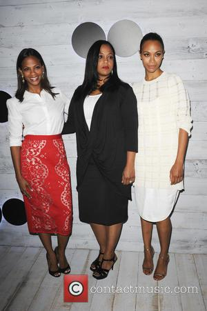 Zoe Saldana , sisters - Go90 Sneak Peek - Los Angeles, California, United States - Friday 25th September 2015