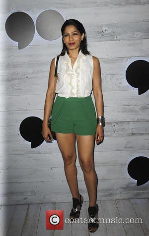 Freida Pinto - Go90 Sneak Peek - Los Angeles, California, United States - Friday 25th September 2015
