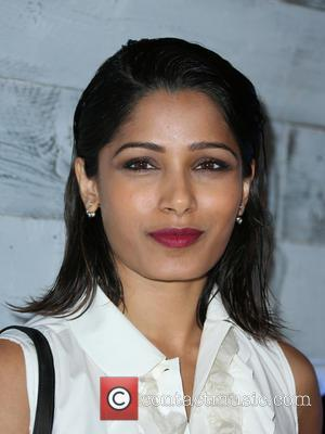 Freida Pinto - go90 Sneak Peek at Wallis Annenberg Center for the Performing Arts - Beverly Hills, California, United States...