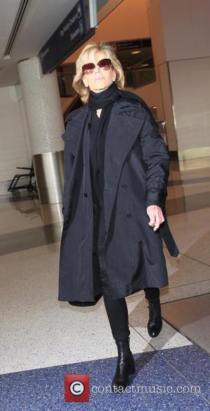 Jane Fonda - Jane Fonda arrives at Los Angeles International Airport (LAX) - Los Angeles, California, United States - Friday...