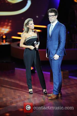 Sylvie Meis , Daniel Hartwich - German RTL Live TV Show 'Stepping Out' at MMC studios in Ossendorf. at MMC...