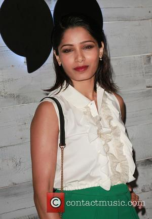 Freida Pinto - VIP sneak peek of Verizon's go90 app held at the Wallis Annenberg Center for the Performing Arts...