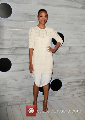 Zoe Saldana - VIP sneak peek of Verizon's go90 app held at the Wallis Annenberg Center for the Performing Arts...