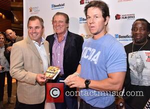Vince Papale, Mark Wahlberg and Michael Blackson