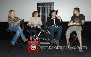 Kristen Bell, Amy Berg, Sam Brower and Dax Shepard