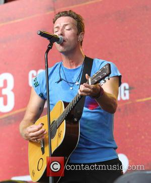 Chris Martin of Cold Play - The 2015 Global Citizen Festival in Central Park at Central Park - New York,...