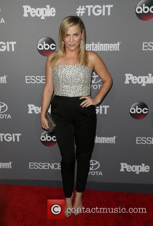Jessica Capshaw - ABC's TGIT premiere event - Arrivals - Los Angeles, California, United States - Saturday 26th September 2015