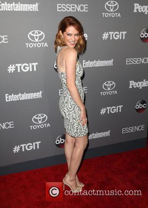 Sarah Drew - ABC's TGIT premiere event - Arrivals - Los Angeles, California, United States - Saturday 26th September 2015