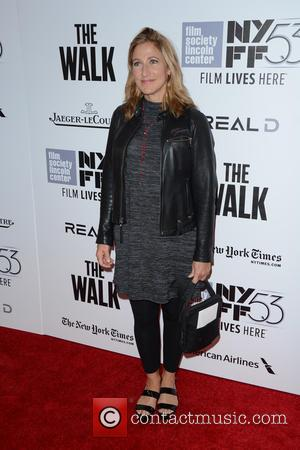 Edie Falco - 53rd New York Film Festival - Opening Night Gala - 'The Walk' Premiere - Red Carpet Arrivals...
