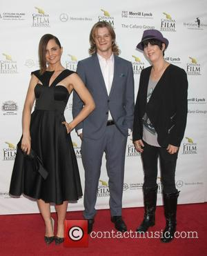 Mena Suvari, Lucas Till , Diane Warren - Catalina Film Festival Saturday September 26 2015 at Avalon Theater - Avalon,...