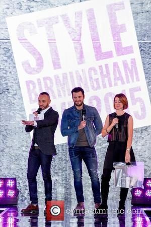 Mark Wright , Mark Heyes - Mark Wright appears on the catwalk as he hosts Style Birmingham Live 2015 at...